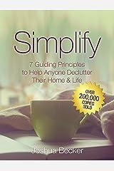 Simplify Kindle Edition