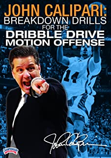 John Calipari: Breakdown Drills for the Dribble Drive Motion Offense