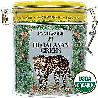 Green Tea Organic Loose Leaf -3.5 Oz- Himalayan Green Tea. High Levels of Antioxidants and Amino Acids. USDA Organic Detox Tea from High Altitude Tea Garden.