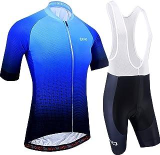 BXIO Maillot Ciclismo Hombre, Ropa Ciclismo y Culotte Ciclis