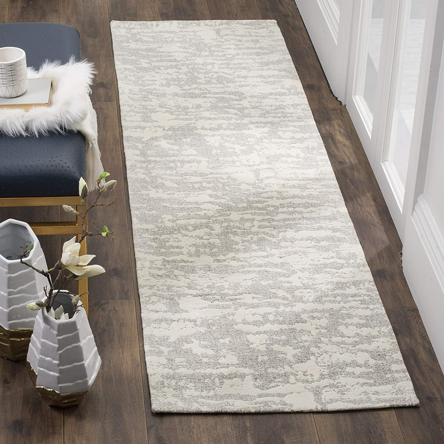 List price Safavieh Marbella Collection Al sold out. MRB631A Handmade Abstract Chenille