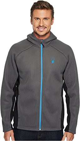 Spyder - Foremost Full Zip Heavyweight Hoodie Stryke Jacket