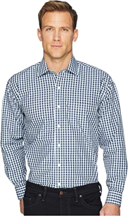 Long Sleeve Magnetically-Infused Dress Shirt- Spread Collar