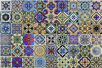 4-Inch 3dRose ct/_39326/_1 Deep Romantic Red Design Colors Art Ceramic Tile