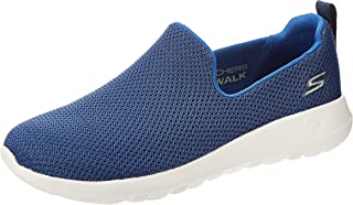 SKECHERS Go Walk Max, Men's Shoes, Blue (Navy Blue), 44 EU
