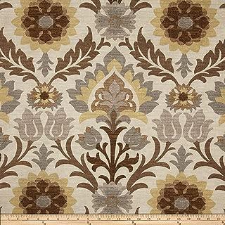 Waverly 0327123 Sun N Shade Santa Maria Moonstone Outdoor Fabric by the Yard