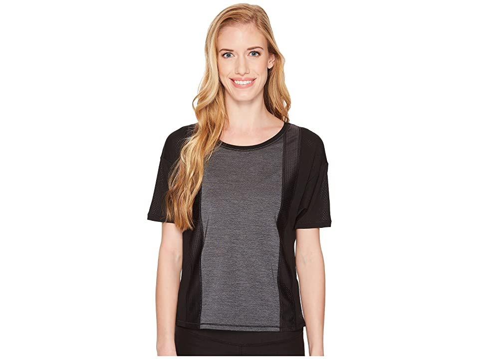 The North Face Determination Short Sleeve Top (TNF Black) Women