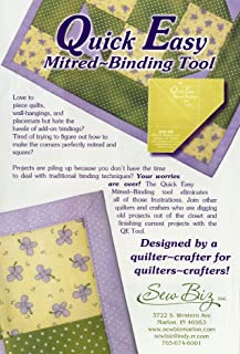 Quick Easy Mitered Binding Tool