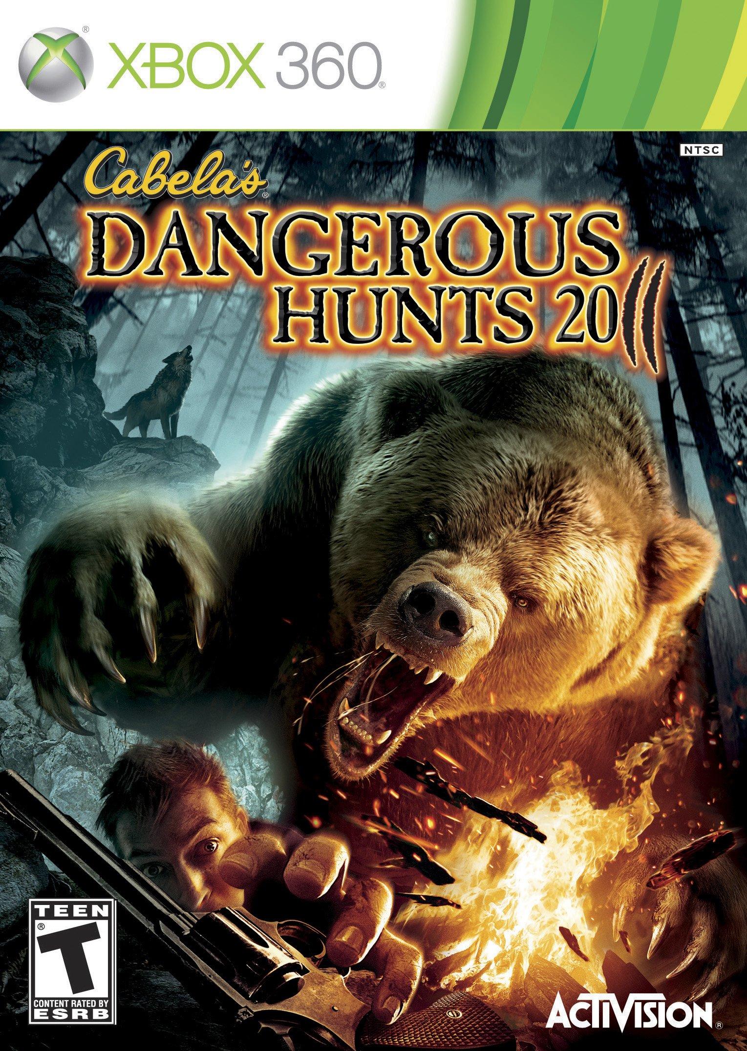 Activision Cabelas Dangerous Hunts 2011, Xbox 360 - Juego (Xbox 360): Amazon.es: Videojuegos