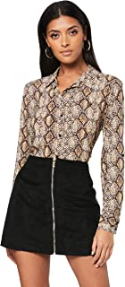 French Connection Women's Snake Print CORE Shirt