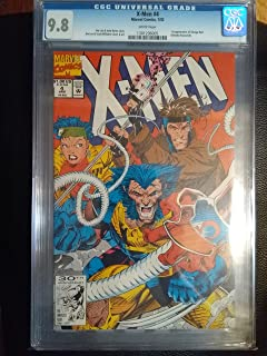 X-men #4 CGC 9.8 dated 1/92 Omega red first appearance