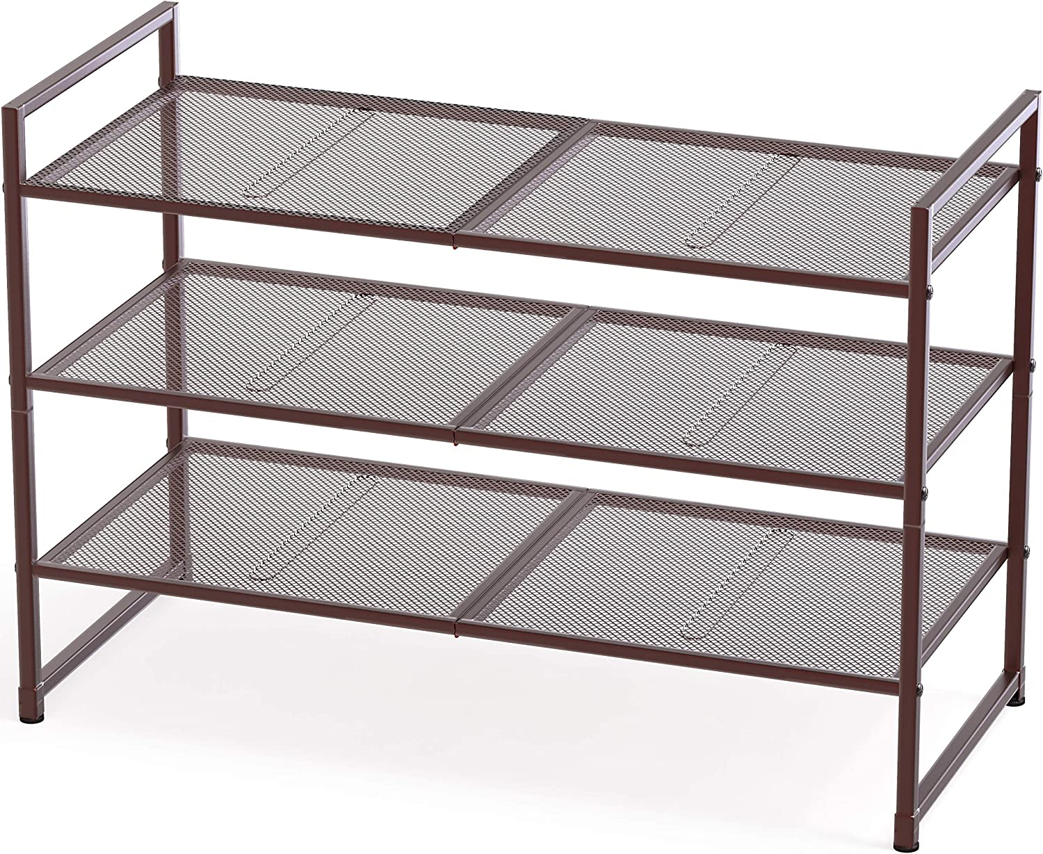 Simple 1 year warranty Houseware Sale special price 3-Tier Stackable Shoes Rack Organizer S Storage