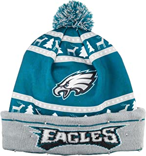 FOCO NFL Unisex 2018 Ugly Light Up Printed Beanie