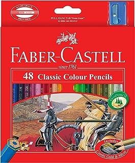 Faber-Castell Classic Colour Pencils 48 Colour In A Cardboard Box