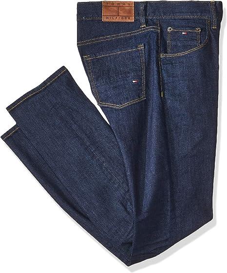 Tommy Jeans Jeans Corte Regular Para Hombre Color Azul Amazon Com Mx Ropa Zapatos Y Accesorios