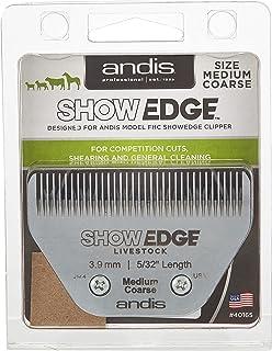 Andis Show Edge Detachable Livestock Blade, Medium Coarse