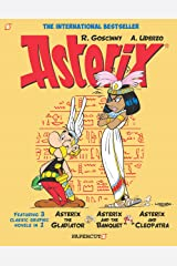 Asterix Omnibus #2: Collects Asterix the Gladiator, Asterix and the Banquet, and Asterix and Cleopatra Kindle Edition