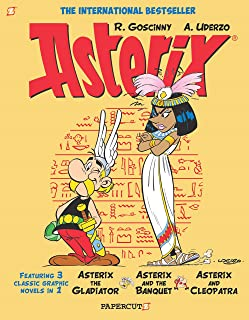 Asterix Omnibus #2: Collects Asterix the Gladiator, Asterix and the Banquet, and Asterix and Cleopatra (English Edition)