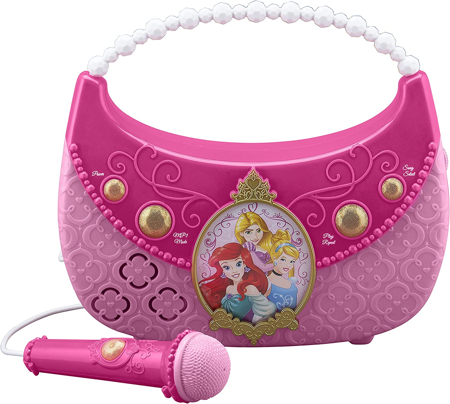 Disney Princess Don't miss the campaign sing Along OFFicial Boombox