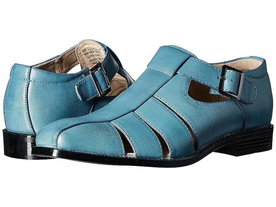 Stacy Adams Calisto Fisherman Sandal (Stone Blue) Men