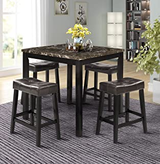 Best marble effect top dining table Reviews