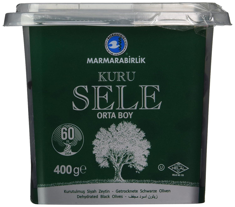 Marmarabirlik Exclusive Black Olive 14 oz. (Kuru Sele)
