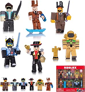 Roblox - LEGEND of ROBLOX 6 Pack Series 2 - This Set Includes 6 of the Greatest Roblox Game Creators of all Time, Unique Accessories and an Exclusive Code for Virtual Gameplay