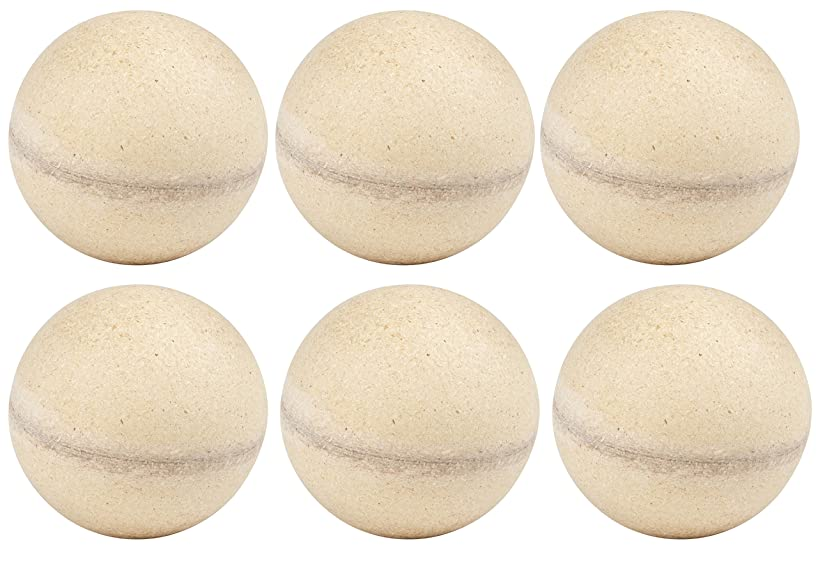 Wooden Ball - 6-Pack Unfinished Wood Balls, Round Craft Balls for DIY Projects, Kids Arts and Craft Supplies, 3.5 Inches Diameter