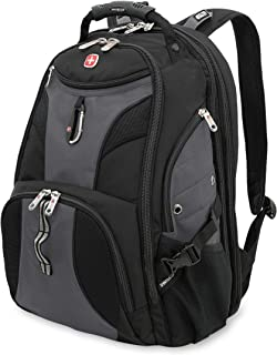 SwissGear Travel Gear 1900 Scansmart TSA Laptop Backpack – Gray