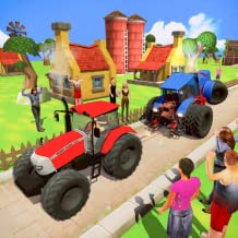 Grand Pull Tractor Match: Tractor Driving Games