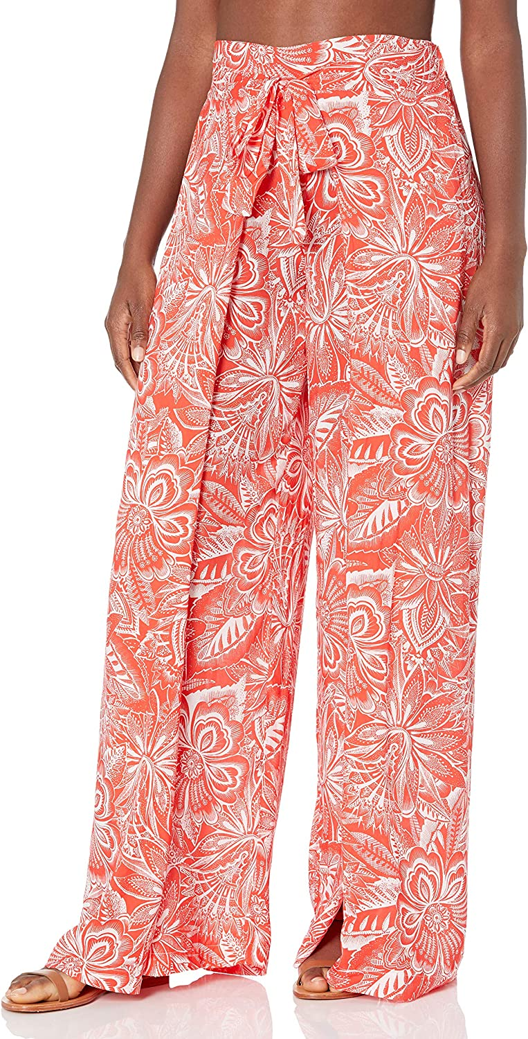 Vince Camuto Women's Standard Wrap Tie Cover Up Pant