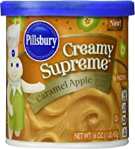 Pillsbury Creamy Supreme Flavored Frosting, Caramel Apple, 16 Ounce