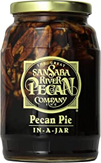 Pecan Pie In-A-Jar 2 Pack, By The Great San Saba River Pecan Company