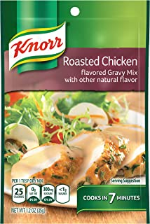 Knorr Gravy Mix Gravy Mix, Roasted Chicken 1.2 oz (Pack of 12)