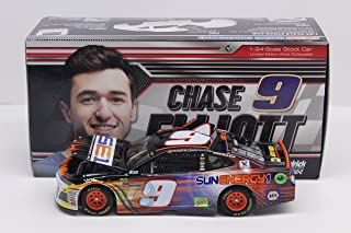 Lionel Racing CX91823SJCL Chase Elliott # 9 Sunenergy1 2018 Chevrolet Camaro ZL1 1:24 Scale Diecast Car, Multicolor