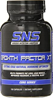 Serious Nutrition Solution Growth Factor XT Dietary Supplement Capsules, 150 Count