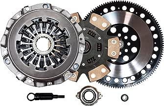 QSC Stage 3 Clutch Kit + Forged Flywheel for Subaru WRX 02-05 EJ20 EJ20T EJ205