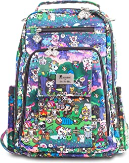 JuJuBe x Tokidoki Backpack, Be Right Back | Travel-Friendly, Compact Stylish Backpack Purse, Adjustable Straps, for Kids and Adults | Camp Toki