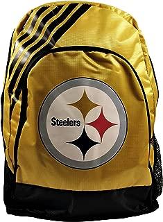 Pittsburgh Steelers Border Stripe Backpack