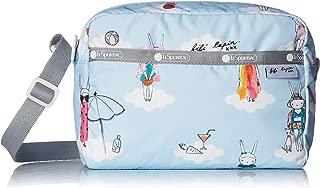 LeSportsac Fifi Lapin xxx Day Dreaming Daniella Crossbody Bag, Style 2434/Color G620, Bunny Rabbit Zipper Pull