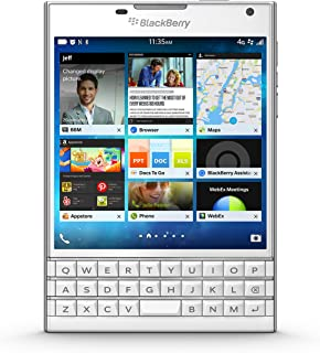 BlackBerry Passport - Factory Unlocked Smartphone - White (U.S. Warranty)