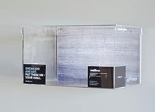 Sneaker Glass Sneaker Display Floating Wall Box