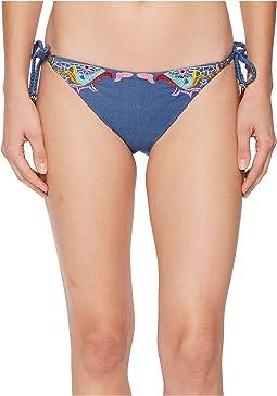 Nanette Lepore - Dazed Denim Vamp Bikini Bottom
