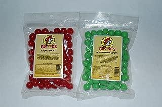 Buc-ees World Famous Sour Candy Bundle (Cherry Sours & Watermelon Sours)