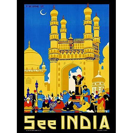 Hanger Framed Canvas Print Poster Print Framed Advertising Print Vintage Wall Art Print India Retro Wall Poster India Art Print
