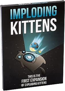 Exploding Kittens Llc Imploding Kittens This Is the First Expansion of Exploding Kittens EKG-1EXP Educational Toy