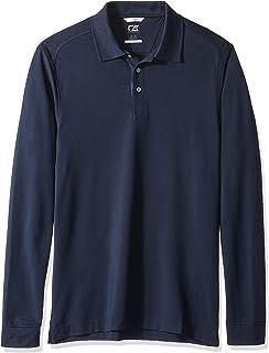 Cutter & Buck Men's 35+UPF, Long Sleeve Advantage Polo Shirt