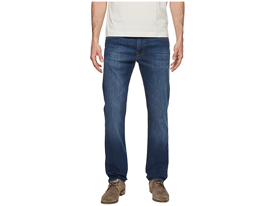 Image of 34 Heritage Courage Straight Leg in Mid Vintage (Mid Wash) Men's Jeans