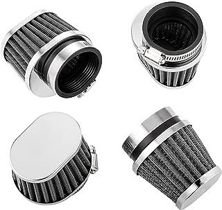 ALPHA MOTO Four Air Filter Filters Various Sizes Fits Honda CB750 CB900 KZ550 GS550 (52MM)
