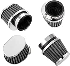 ALPHA MOTO Four Air Filter Filters Various Sizes Fits Honda CB750 CB900 KZ550 GS550 (54MM)
